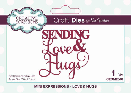 Creative Expressions Mini Expressions - Love & Hugs
