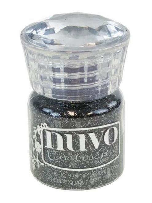Nuvo Glitter Embossing Powder Glitter Noir