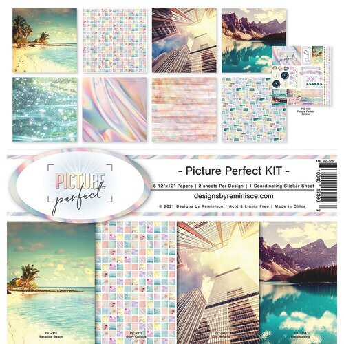 Reminisce Picture Perfect Kit Paper Pack