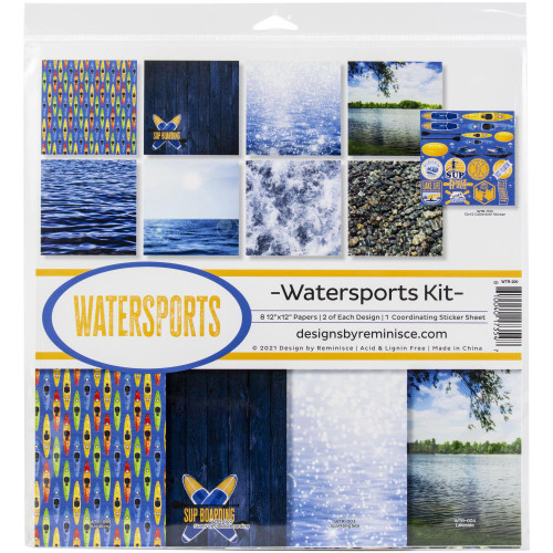 Reminisce Watersports Kit Paper Pack