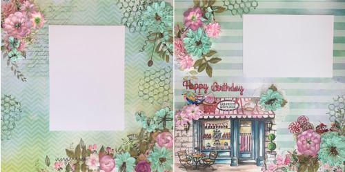 Happy Birthday Sweet Treats 2-Page Layout