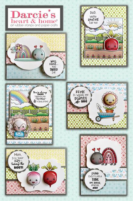 Darcie's Heart & Home Christmas Garden Card Kit