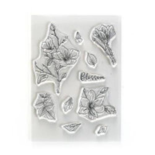 Elizabeth Craft Designs Blossom Beautiful Blooms Stamp Set