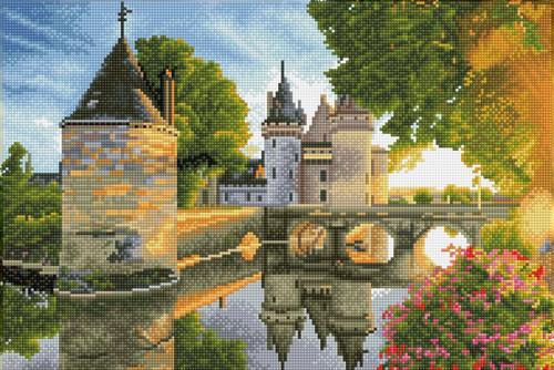Diamond Dotz SQUARES River Castle