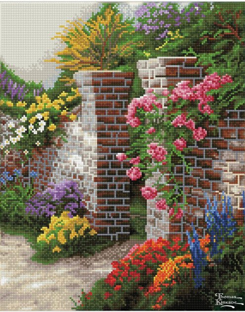 Diamond Dotz Thomas Kinkade The Rose Garden