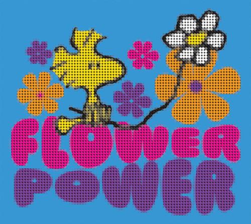 Diamond Dotz The Peanuts Flower Power
