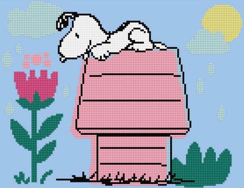 Diamond Dotz The Peanuts Dog House