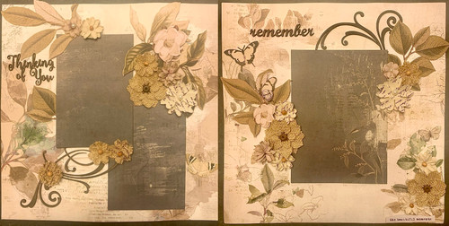 Thinking of You 2-Page Layout (Virtual Class 24)