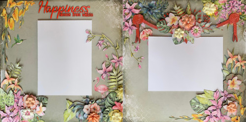 Happiness Blooms from Within 2-Page Layout (Virtual Class 27)