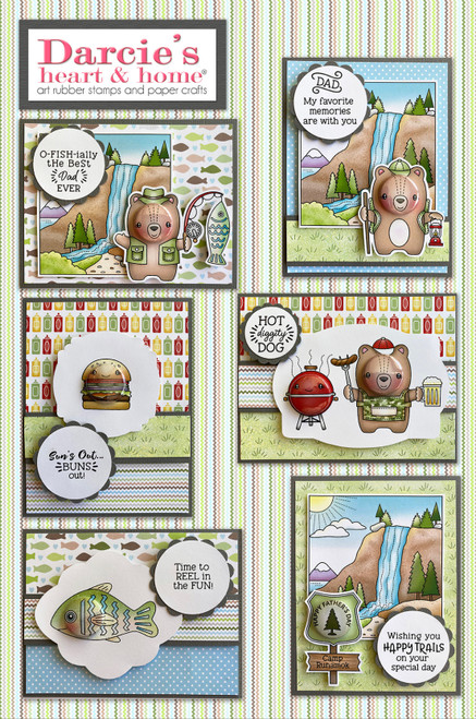 Darcie's Heart & Home Fathers Day 2021 Card Kit