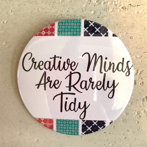 """Creative Minds"" Pin-Back Button"