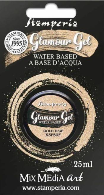 Stamperia Glamour Gel Gold Dew