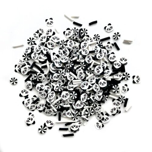 Buttons Galore Sprinkletz Embellishments Panda