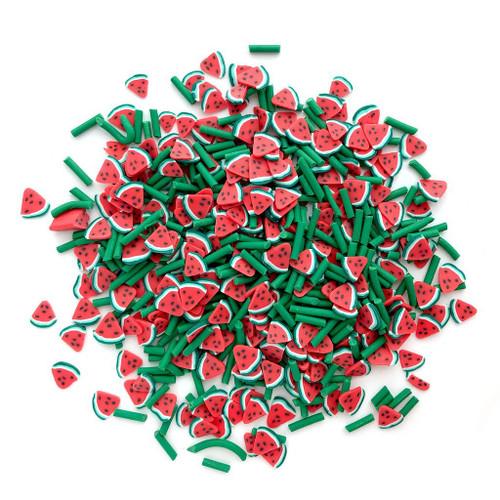 Buttons Galore Sprinkletz Embellishments Summer Melon