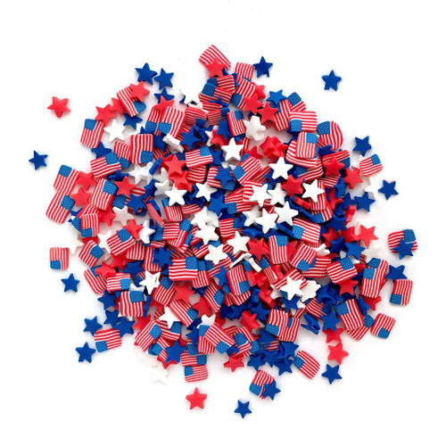 Buttons Galore Sprinkletz Embellishments Old Glory