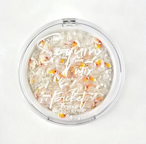 Picket Fence Studios Sequin Mix Plus Fishy Wishes