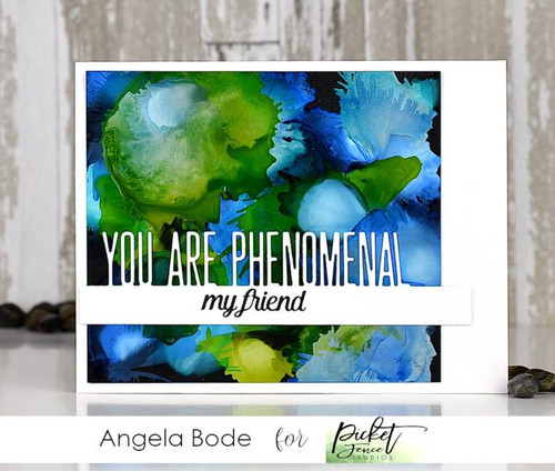 Picket Fence Studios You are Phenomenal Word Topper Die
