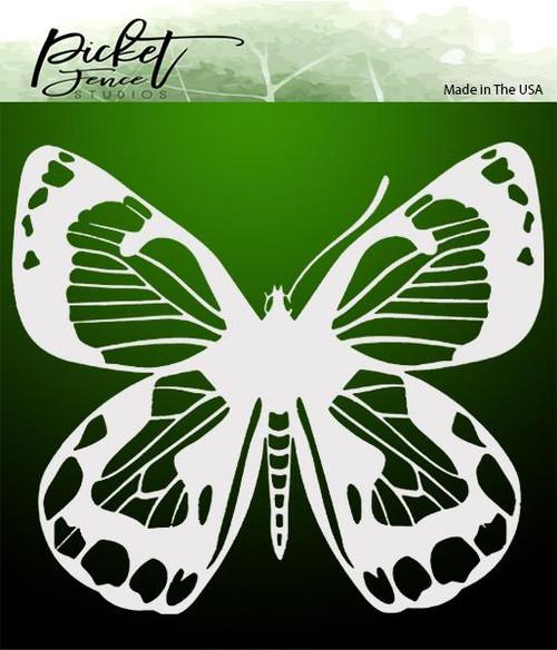 Picket Fence Studios Zing Butterfly Stencil