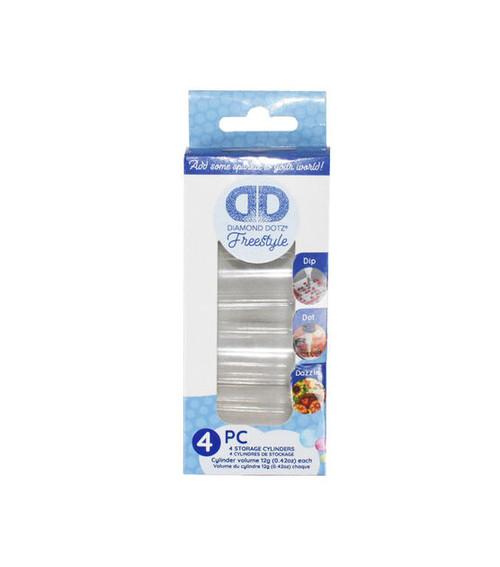 Diamond Dotz Freestyle Cylinders 4pc