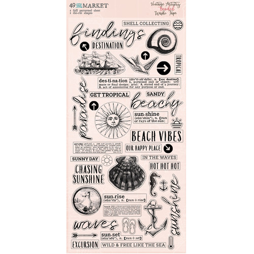 49 and Market Vintage Artistry Beached Washi Tape