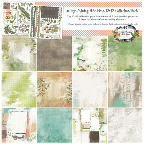 49 and Market Vintage Artistry Hike More 12 x 12 Collection Pack
