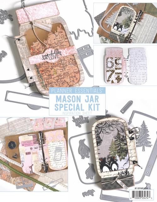 Elizabeth Craft Designs Mason Jar / Snow Globe Special Kit