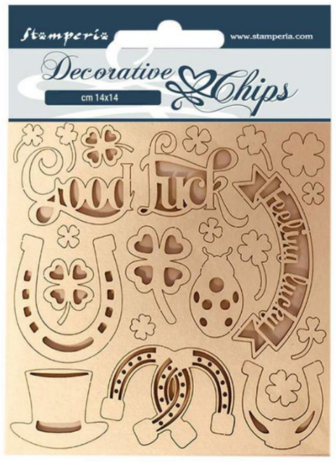 Decorative Chips  - Good luck