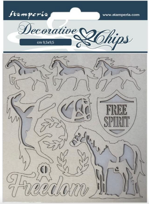 Decorative Chips - Freedom