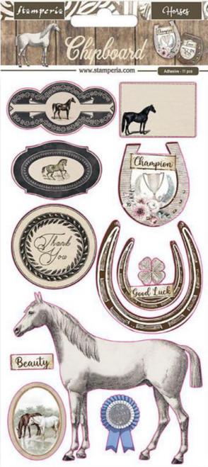 Stamperia Chipboard  - Romantic Horses