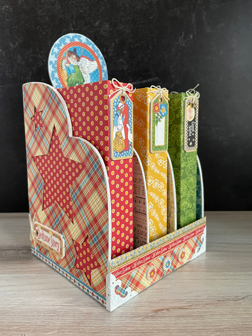 Graphic 45 Mother Goose Bookcase & Brag Book Set 2021 Monthly Project Volume 7