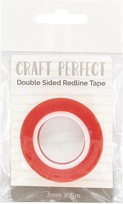 Craft Perfect Double Sided Redline Tape 3mm x 5m