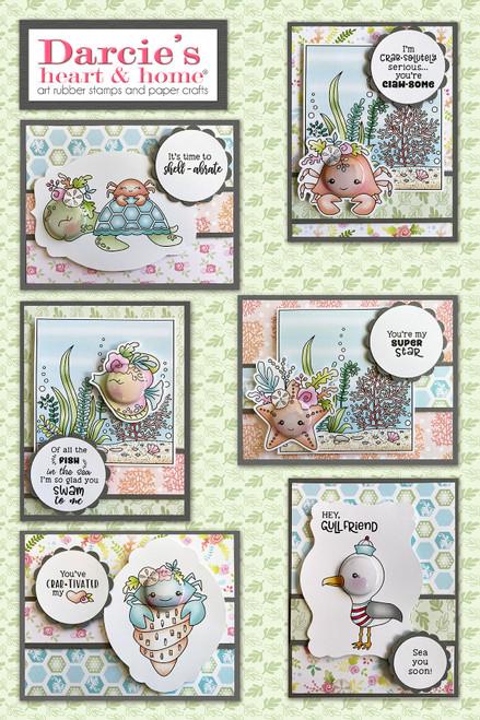 Darcie's Heart & Home Under the Sea Card Kit