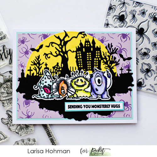 Picket Fence Studios You Creep Me Out Stamp Set