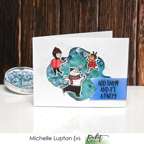 Picket Fence Studios A Happy Winter to You Stamp Set