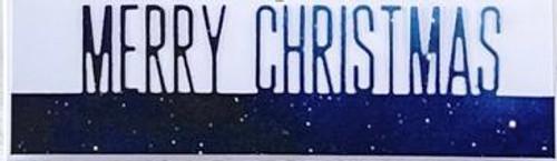 Picket Fence Studios Merry Christmas Word Topper Die