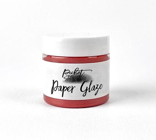 Picket Fence Studios Paper Glaze Poinsettia Red