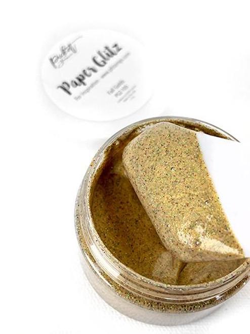 Picket Fence Studios Paper Glitz Fall Golds