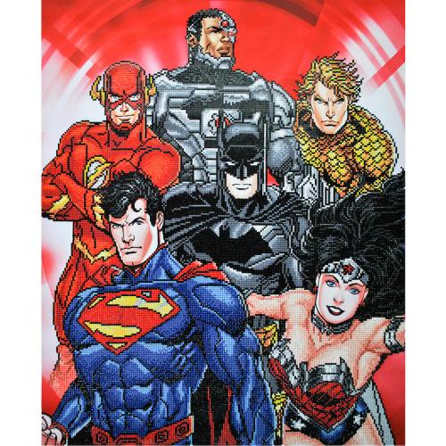 Camelot Diamond Dotz DC Justice League Six Stacked Superheroes