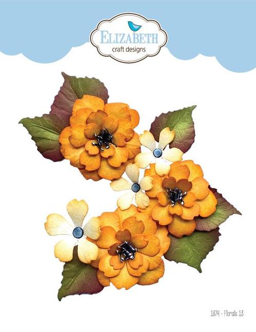 Elizabeth Craft Florals 13 Die Set