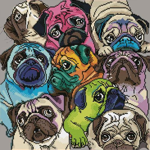 Diamond Dotz World of Pugs