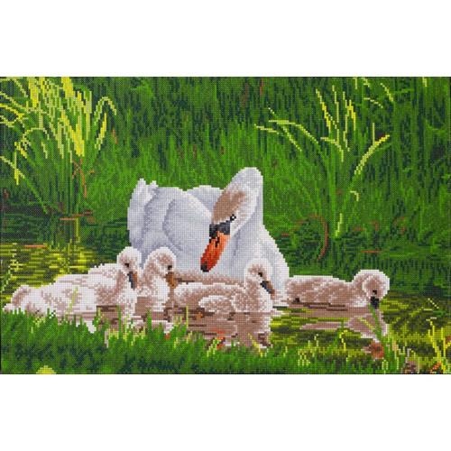 Diamond Dotz Mother Swan & Signets