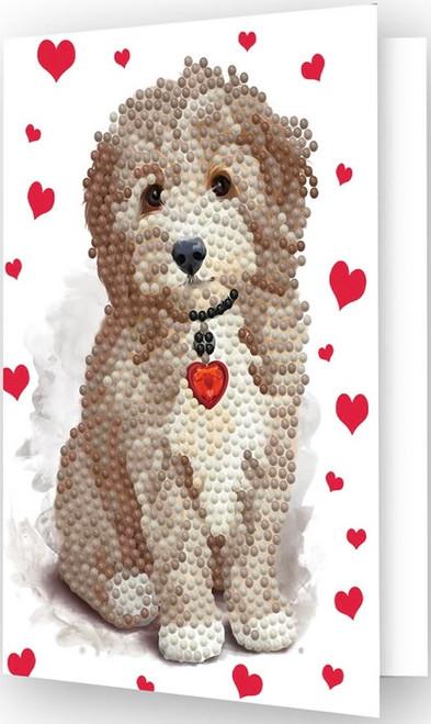 Diamond Dotz Lovely Boy Greeting Card