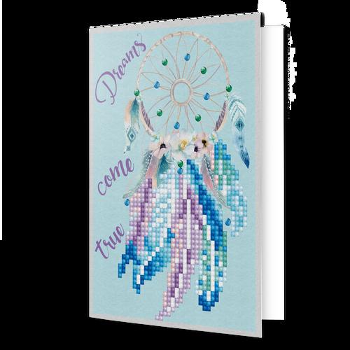 Diamond Dotz Dreams Come True Greeting Card