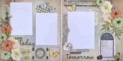 Blossom 2-Page Layout (Virtual Class 29)