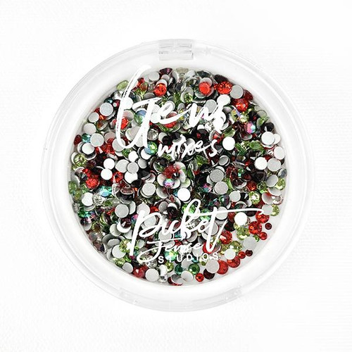 Picket Fence Studios Candy Cane Gem Mix