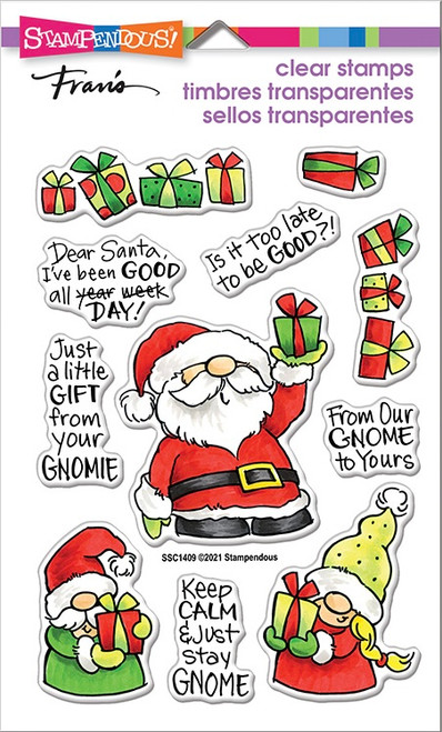 Stampendous Santa Frame Perfectly Clear Stamps