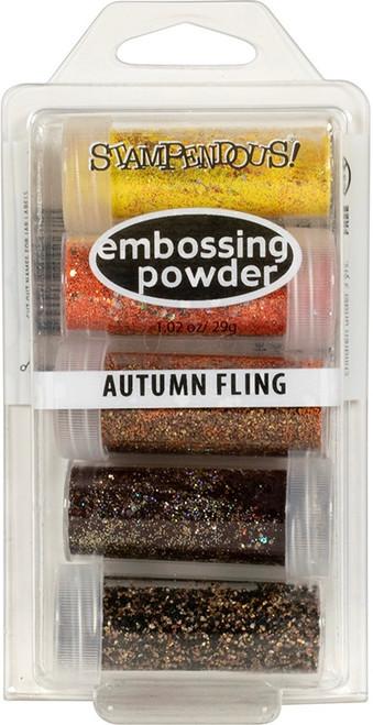 Stampendous Autumn Fling Embossing Powder Kit