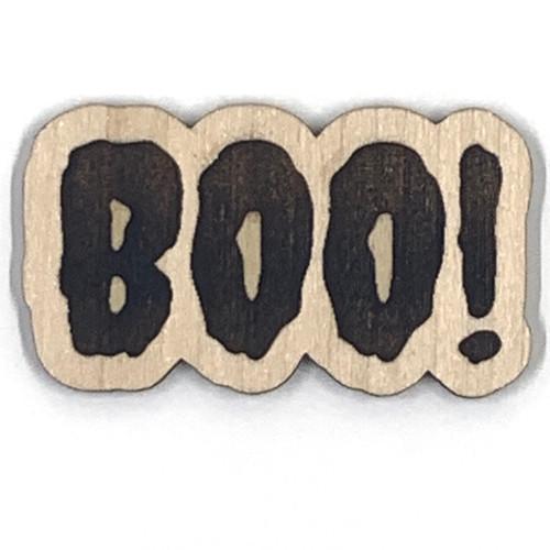 BOO! Wooden Embellishment