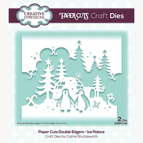 Creative Expressions Paper Cuts Ice Palace Double Edgers Die Set
