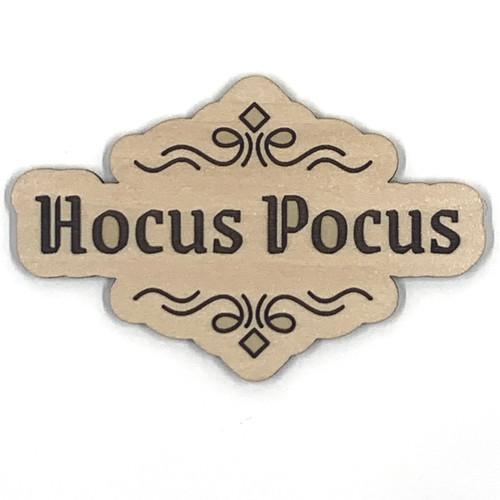 Hocus Pocus Halloween Wooden Embellishment